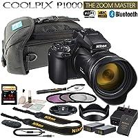 Nikon COOLPIX P1000 125x Optical Zoom Digital Camera Starters Bundle