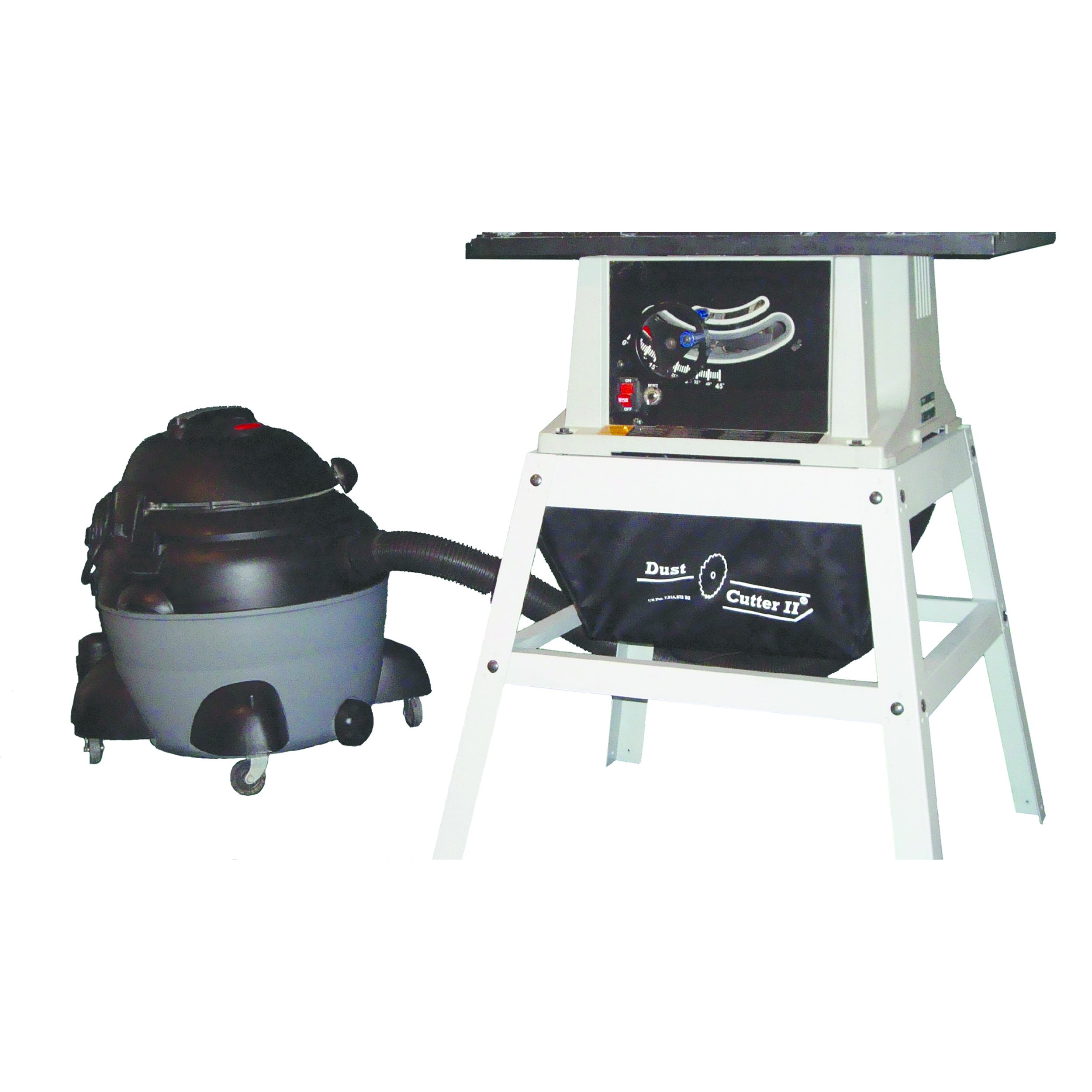 Dust Cutter II for Contractor Style Table Saws by Keen