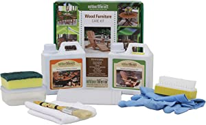 Outdoor Interiors K0001 Furniture Oil and Maintenance Kit