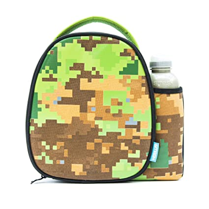 faabfc005354 Smash Pixelated Camo Insulated Lunch Bag and 500ml Bottle, Fabric ...