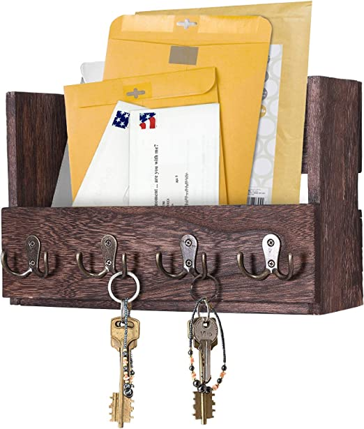 Comfify Mail Holder with Double Hooks Blue