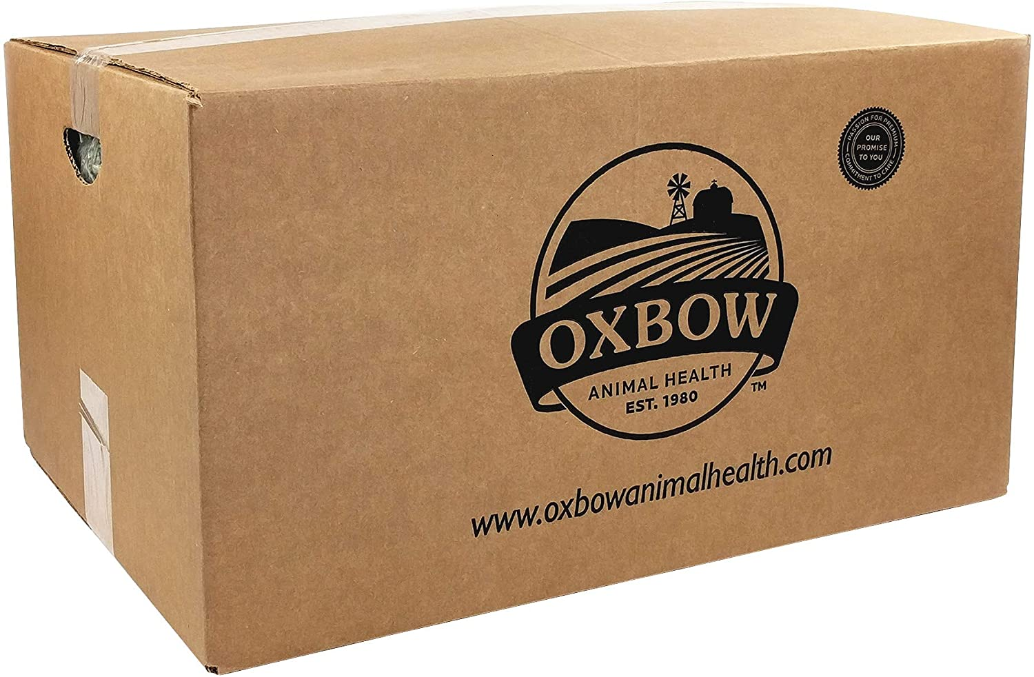 Oxbow Animal Health Western Timothy Hay - All Natural Hay for Rabbits, Guinea Pigs, Chinchillas, Hamsters & Gerbils Bulk Size