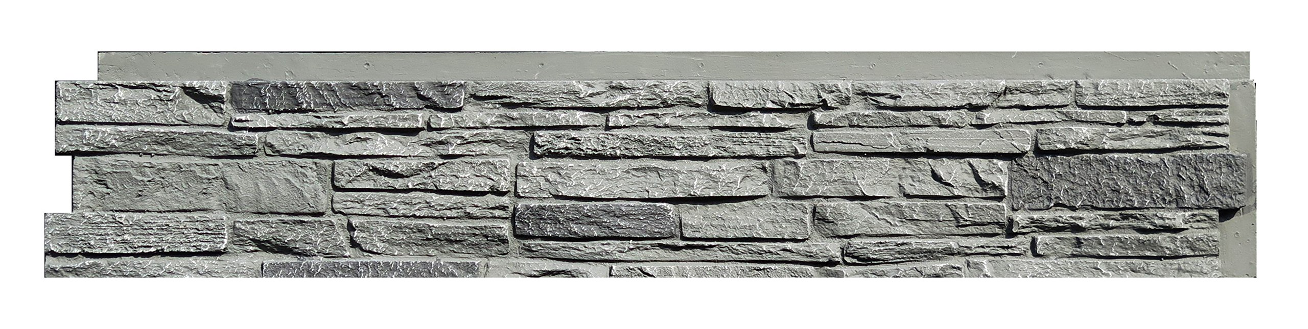 NextStone Slatestone Panel Rocky Mountain Graphite 8 Pack