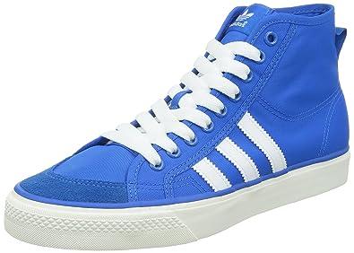 b6bae04d21ed25 Image Unavailable. Image not available for. Colour  adidas Originals Men s  Nizza Hi Blue