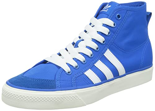 cdc8e88db462 adidas Originals Men s Nizza Hi Blue