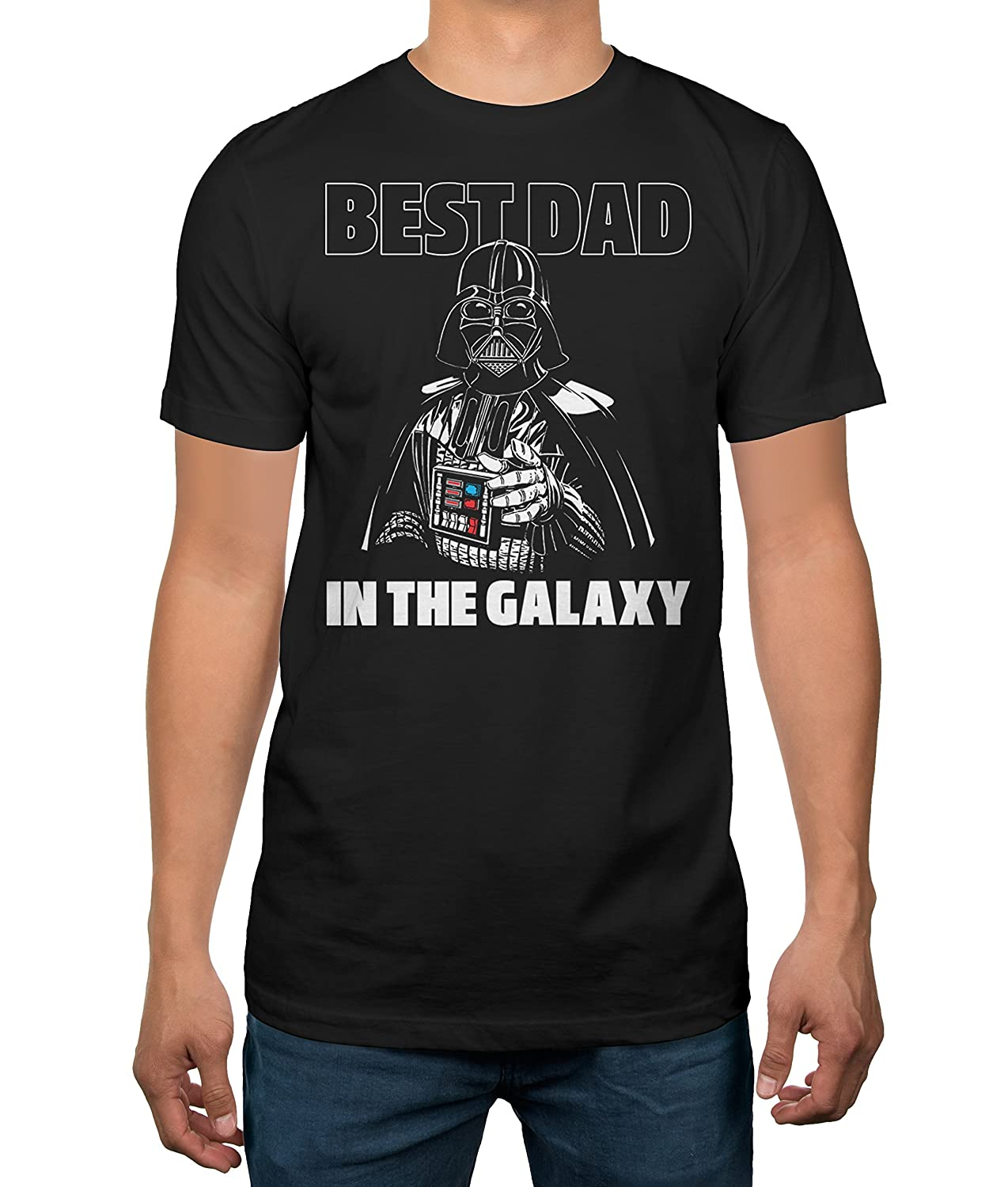 3d94137cb Amazon.com: Star Wars Father's Day Darth Vader Best Dad Mens T-Shirt:  Clothing
