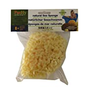"PanHy Baby Bath Natural Sea Sponge 4-5"" Ultra Soft, Biodegradable, Hypoallergenic, Absorbent"