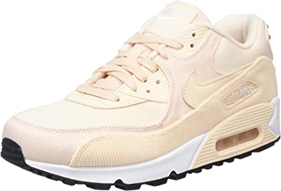 Nike WMNS Air Max 90 Lea, Sneakers Basses Femme, Multicolore