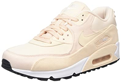 ff253e44a3 Amazon.com | Nike Women's Air Max 90 Leather (Guava Ice) | Fashion ...
