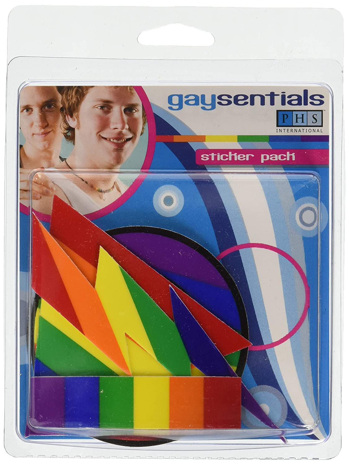 Gaysentials Static Clings Pack B 1.3 Ounce