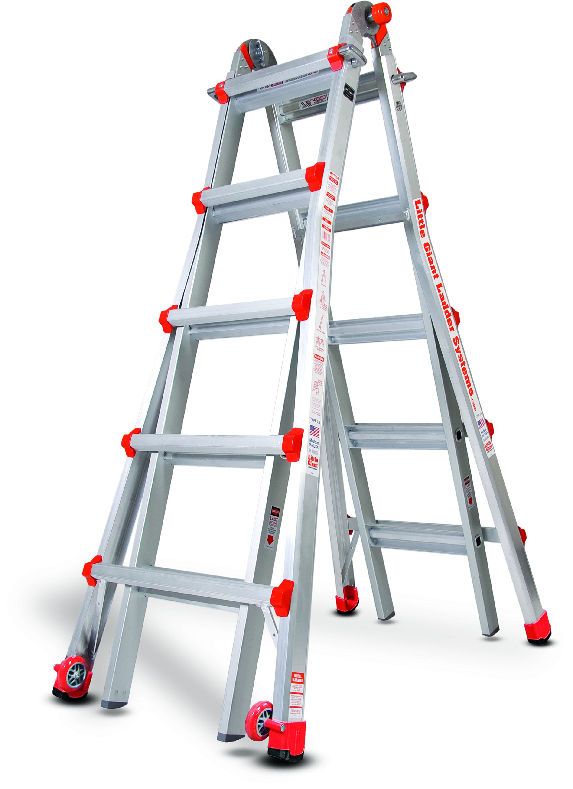 Little Giant Ladder Systems 10103LG 300-Pound Duty Rating Multi-Use Ladder