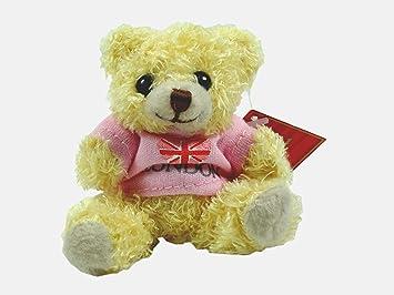 Amazon.com: 7 cm Londres Llavero oso con playera rosa: Home ...