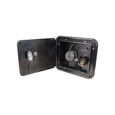 JR Products (K7113-6-A Black Key Lock City/Gravity Water Hatch: Automotive