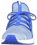 PUMA Men's MEGA NRGY Knit Sneaker StrongBlue-White