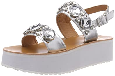 Womens 317177 Xy1042 16 Ankle Strap Sandals Buffalo ytemBgLe