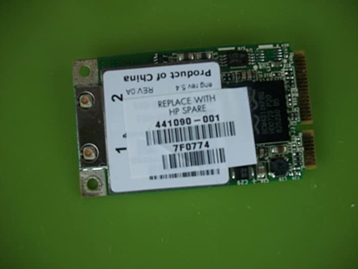 HP Pavilion dv6000 Pavilion dv9000 Wireless LAN Card - 441090-001