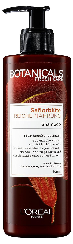 botanicals haarshampoo fresh care saflorblà te reiche nà hrung