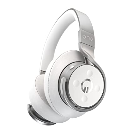 e0d50224380 Amazon.com: MUZIK One Connect Smarter Headphone, Silver: Electronics