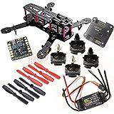 Hobbypower DIY 250mm Quadcopter Mini Racing Drone + HP T2204 2300KV Motor + BLHeli 20A ESC +NAZE32 6DOF Flight Controller +5045 Propeller