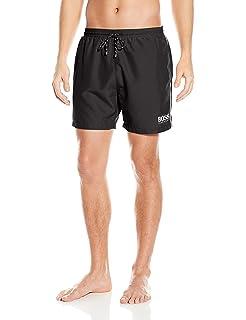 Hugo Boss Cavefish Quick Dry Striped Trunks Shorts Swimwear