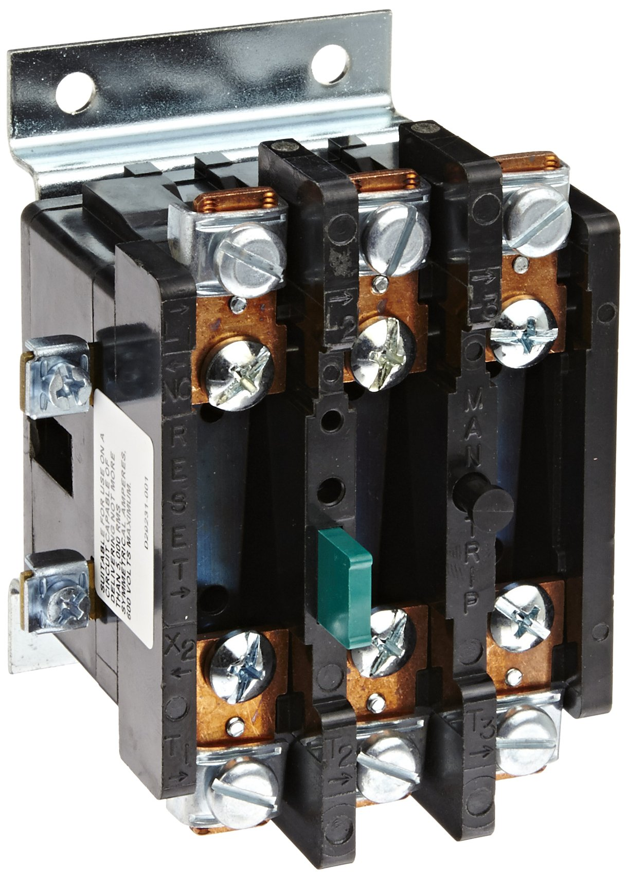 Siemens 48DC38AA4 Ambient Compensated Bimetal Overload Relay, Open Type, Single and 3 Phase, 3 Poles, 30 Amp Rating, 1 NC Auxiliary Contacts, 10A (A600) & 5A (P300) Contact Rating
