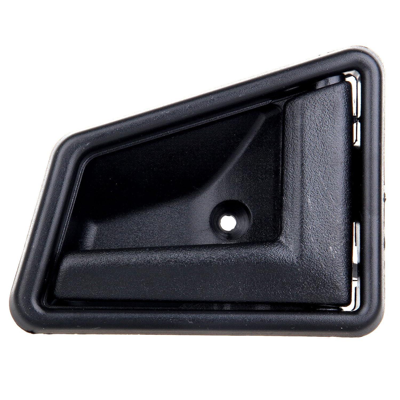 cciyu Door Handles Interior Front//Rear Passenger Driver Side Replacement fit for 1989-1998 Suzuki Sidekick Black 4pcs