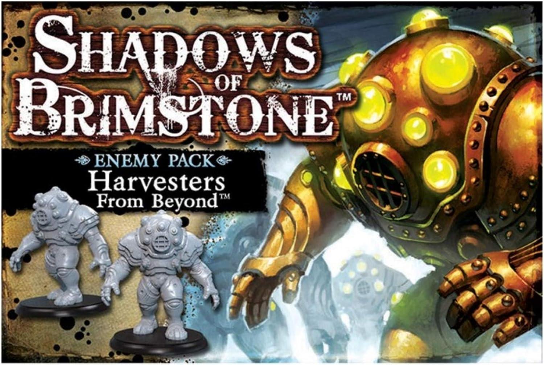 SHADOWS OF BRIMSTONE Harvesters Enemy Pack*NEW*