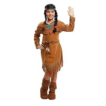 My Other Me Me-203390 Disfraz de india velvet para niña, 7-9 años (Viving Costumes 203390)