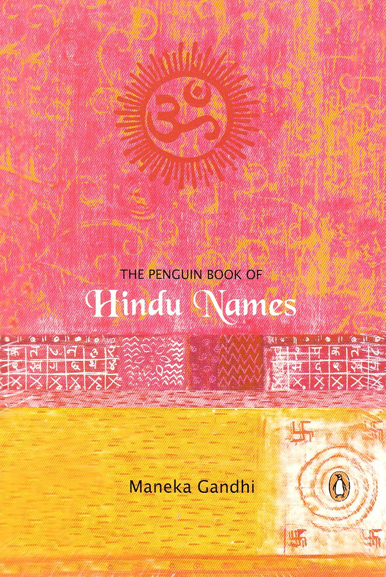 Maneka Gandhi Book Of Hindu Names Pdf