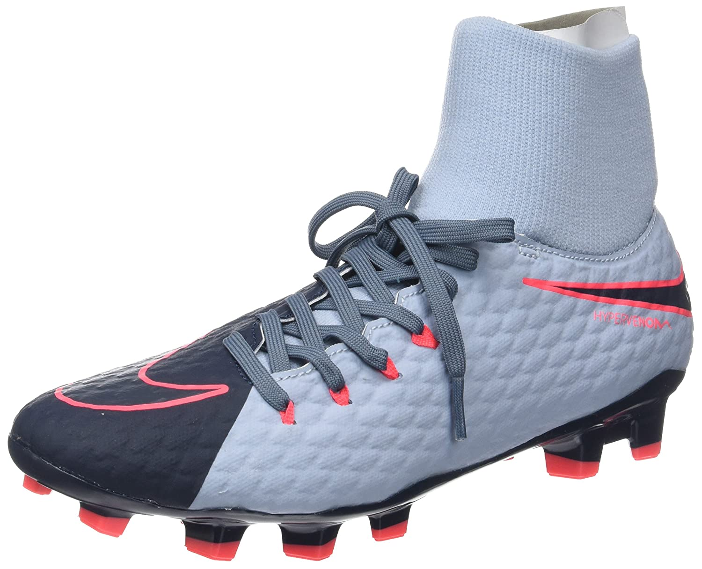 Bleu (lumière Armory bleu noir-armory bleu-hot Punch) 42.5 EU Nike Hypervenom Phelon 3 DF FG, Chaussures de Football Homme