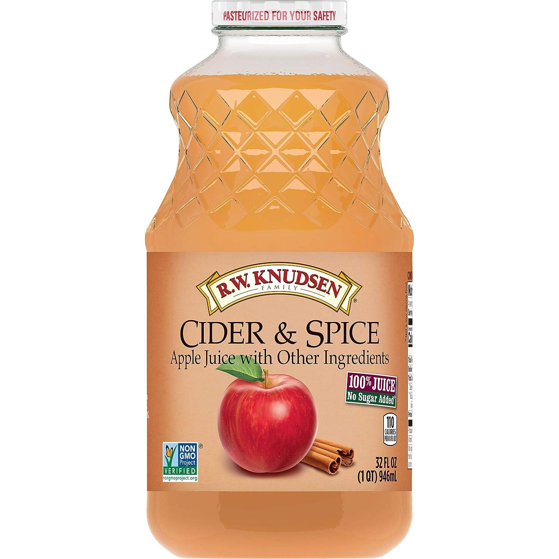 R.W. Knudsen Cider and Spice Apple Juice, 32 Ounces