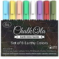 Chalk Markers - 6mm Earth + 10 Metallic