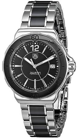 TAG Heuer WAH1210BA0859 - Reloj de pulsera mujer, cerámica, color negro: Tag Heuer: Amazon.es: Relojes