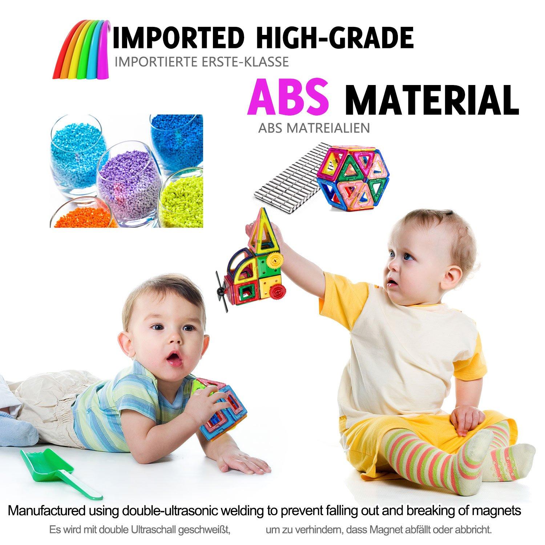 96pcs Magnetic Building Blocks Set Building Construction Toys For
