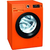 Gorenje W 8543 TO Waschmaschine FL/ A+++ / 8 kg / 1400 UpM / orange / Totaler AquaStop / SensoCare-Waschsysteme / VitaProgramme / Colour Collection