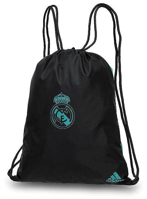 37369b5e96 adidas Real Madrid, Borsa da Calcio Unisex - Adulto, (Nero/Arraer ...