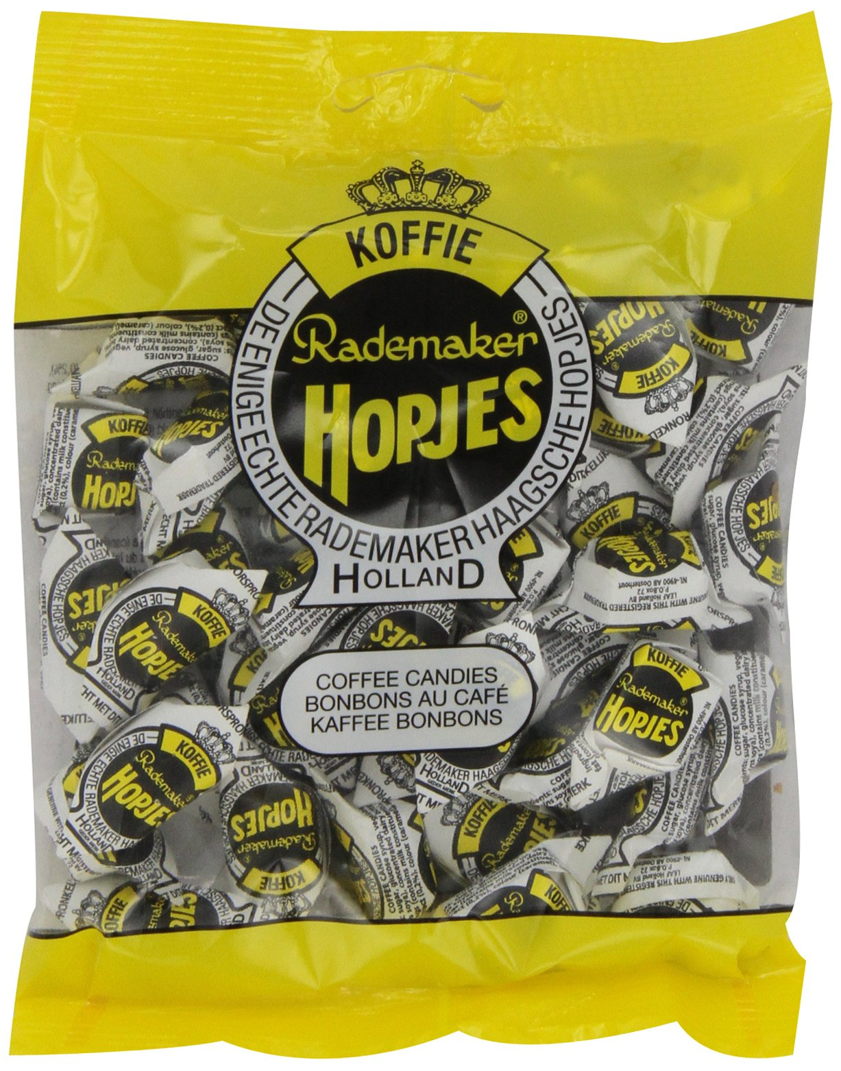 Rademaker Hopjes Coffee Candies, 7.05-Ounce Bags (Pack of 20)