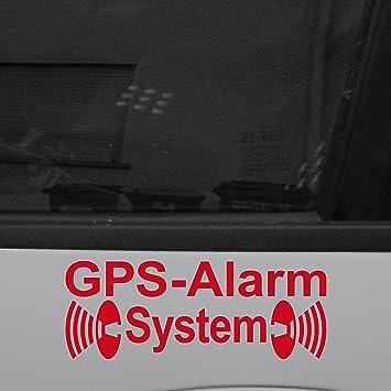 Original GreenIT GPS Alarm System Aufkleber Die Cut Decal Auto Fahrzeug Tür  Fenster Scheibe Tattoo Folie