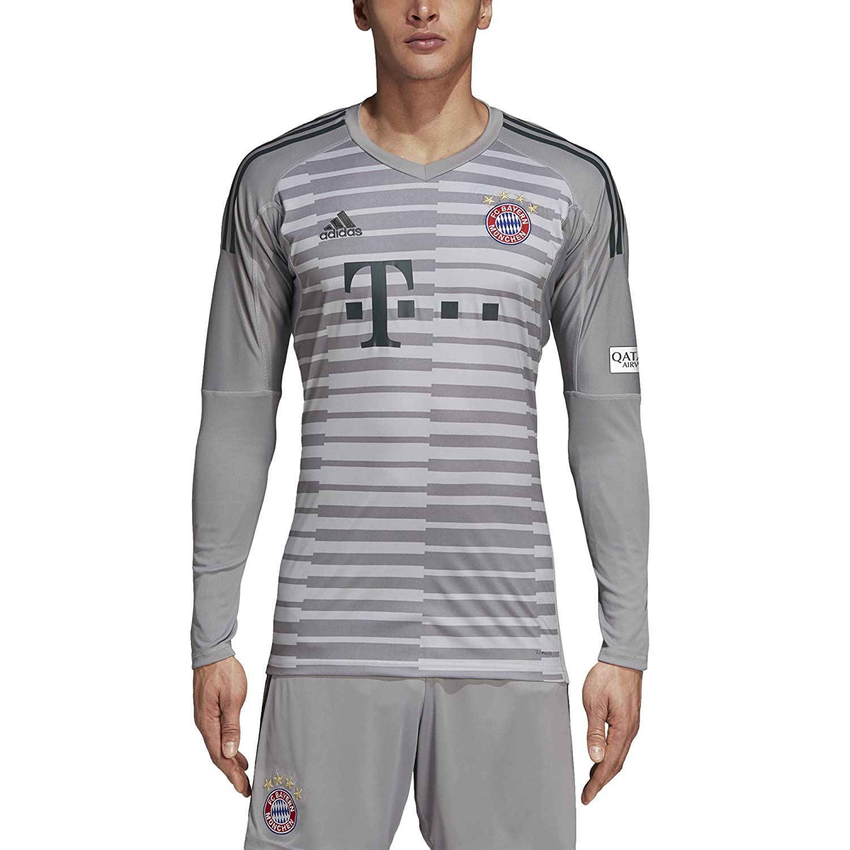 de4301aba adidas Kinder 18 19 Fc Bayern Torwart Trikot  Amazon.de  Sport   Freizeit