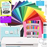 Silhouette CAMEO 3 Bluetooth Starter Bundle with 24 Oracal 651 Sheets, Transfer Paper, Guide, Class, 24 Sketch Pens, and More