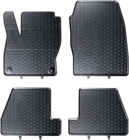 Dapa 1103847 2 Auto Gummimatten Fußmatten Im Wabendesign Anti Rutsch Oberfläche Geruch Vermindert Und Passgenau Inklusiv Befestigungen Auto