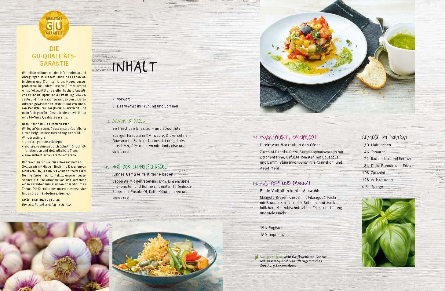 Vegetarische Sommerküche Rezepte : Frühling sommer gemüse Überraschend neue rezepte für die