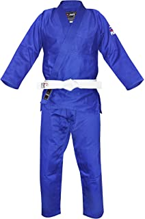 Amazon.com : Fuji Judo Uniform, White : Martial Arts Uniform ...