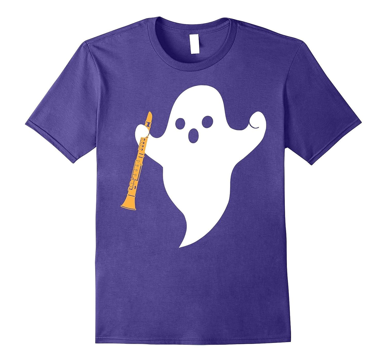 Funny Halloween Clarinet Tshirt-FL