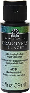 product image for FolkArt Dragonfly Glaze Multi-Surface Paint, Blue-Green-Gold