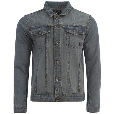 Mens Branded Designer Denim Jacket Mens Button Up Collar Denim