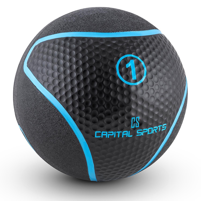Capital Sports Medba 1 Balón medicinal 1kg (Adecuado para ...