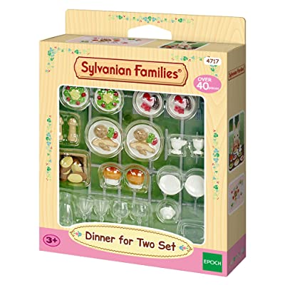 Sylvanian Families Dinner for Two Set: Toys & Games