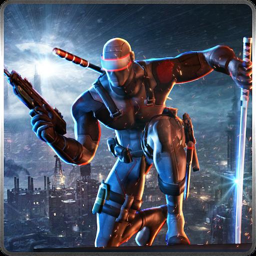 Ninja Crime City Héroe Fighting Warriors en el juego Caos 3D ...