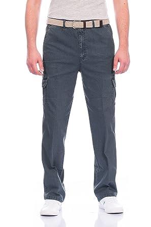028faa2c9927 Fashion Herren Cargo Hose mit Dehnbund ID342  Amazon.de  Bekleidung